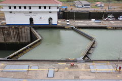 Lock of the Panama Canal Stock Image