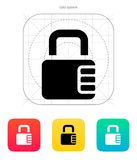 Lock with password icon. Royalty Free Stock Photo
