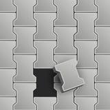 Lock Pavement Illustration Stock Photography