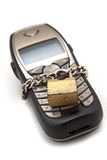 Lock phone Stock Photography