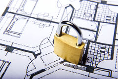 Lock plans Stock Images