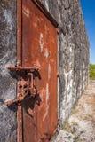 Lock of prison Royalty Free Stock Photo