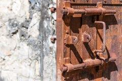 Lock of prison Stock Photography