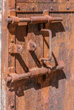 Lock of prison Royalty Free Stock Image