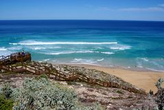 Lock's Well, Eyre Peninsula. Dramatic coastal scenery at Lock's Well, a popular location for surf fishing, Eyre Peninsula (Australia Stock Photos