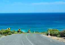 Lock's Well, Eyre Peninsula. Driving down the cliffs at Lock's Well, Eyre Peninsula (Australia Stock Photos