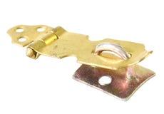Lock. Security lock over white background Stock Photo