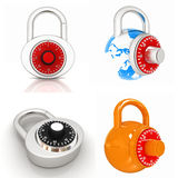 Lock set Royalty Free Stock Images