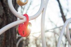 Heart lock royalty free stock photography