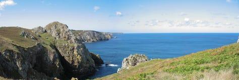 Lock Sizun i Brittany arkivfoton
