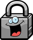 Lock Smiling Stock Image