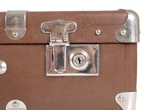 Lock suitcase Stock Photos