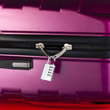 Lock suitcase broken Stock Photos