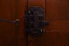 Lock of turkish old door Royalty Free Stock Photos