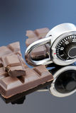 Lock up your Chocolate Royalty Free Stock Image