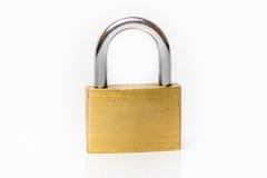 Lock on white background Stock Image