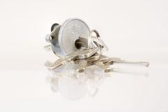 Lock With Keys Royalty Free Stock Photography