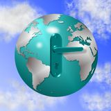 Lock of the world Stock Photography