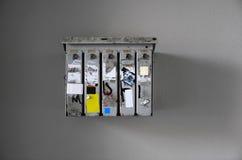 lockboxes Стоковое Изображение RF