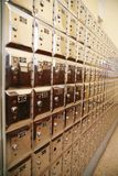 Lockboxes Stock Photography