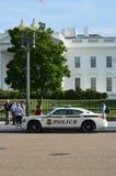 Lockdown della Casa Bianca dopo l'incidente del fuco Fotografia Stock