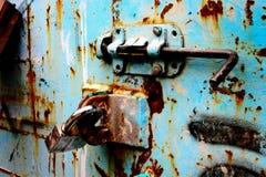 Lockdown do recipiente Imagem de Stock