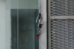 locked fotografia stock libera da diritti