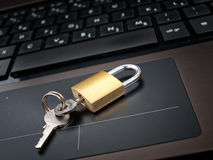 Locked access Royalty Free Stock Image