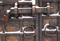 Locked and bolted Stock Photo