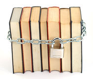 Locked book Stock Photography