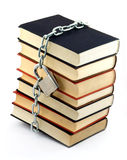 Locked book Royalty Free Stock Photography