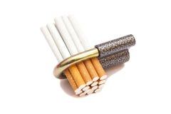 Locked cigarettes Stock Photos