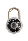 Locked combination padlock Royalty Free Stock Photos