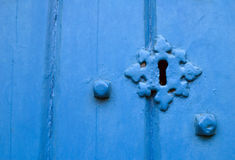 Locked Door royalty free stock image