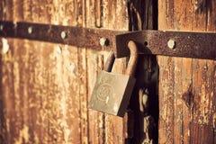 Free Locked Door Royalty Free Stock Photography - 56620887