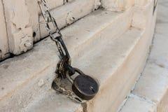 Locked Door in Taj Mahal Stock Images
