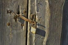 Locked door. Stock Photography