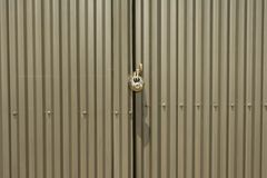 Locked doors Royalty Free Stock Images