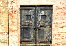 Locked Doors Royalty Free Stock Photography