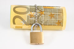 Locked euro Stock Images