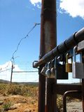 Locked Fences Stock Photos