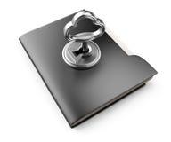 Locked folder Royalty Free Stock Photography