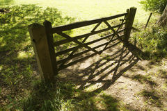Locked gate Royalty Free Stock Images