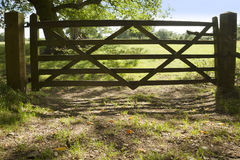 Locked gate Stock Photography