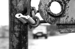 Locked Gate Stock Photography