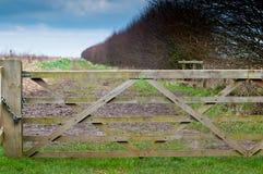 Locked gate Royalty Free Stock Photos