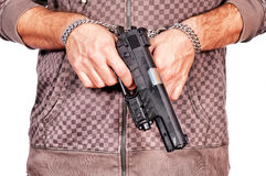Locked gun Stock Image