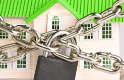Locked House Stock Images