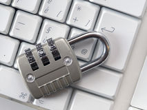 Locked keyboard, Stock Photography