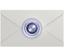 Locked letter Royalty Free Stock Photography